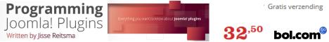Programming Joomla! Plugins - Jisse Reitsma
